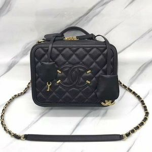 Chanel Vanity Bag New Check Description